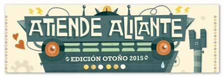 Atiende Alicante Otono 2015cartel1